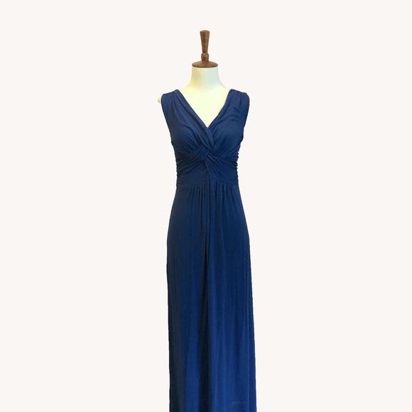 Anthropologie Dresses & Skirts - Navy Blue Maxi
